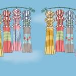 仙台七夕祭りの飾りには由来があった!?七夕祭りについて知ろう!