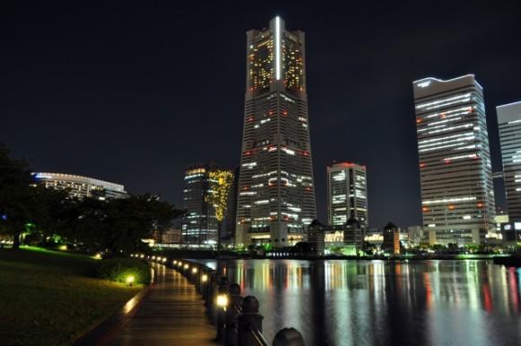 横浜開港祭,花火,どこから