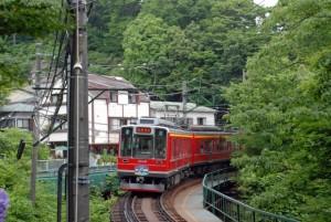 鎌倉,あじさい,箱根登山鉄道