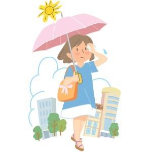 雨傘,日傘,違い