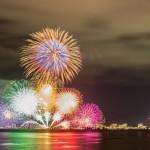 松江水郷祭☆花火はいつどのくらい上がるの?祭りの楽しみ方!