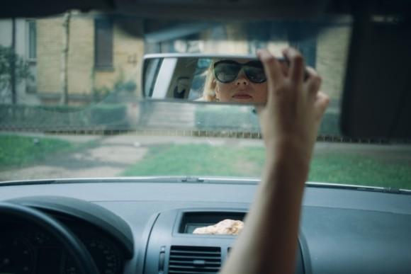 偏光グラス,運転