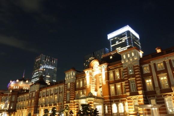 東京駅 イルミネーション